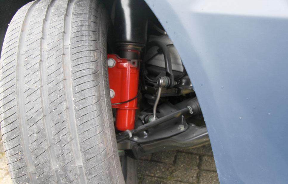 auto onderdelen schokdempers gebruikt
